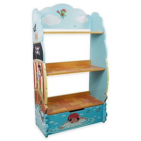 bed bath and beyond bookcase teamson fantasy fields pirate island bookcase bed bath