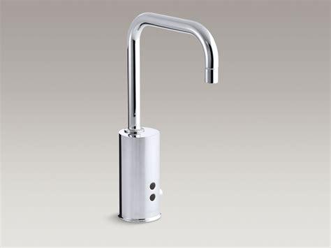 kohler touchless gooseneck deck mounted with temperature standard plumbing supply product kohler k 45345 ba cp
