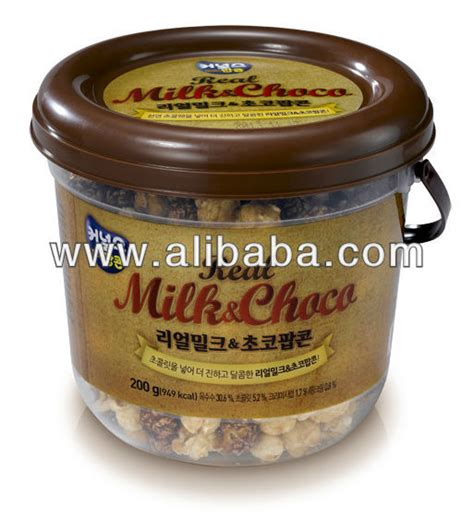 Corn Choco Snack Korea real milk choco popcorn products south korea real milk