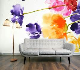 floral wall mural mural modern design wallpapers amp pictures