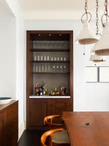 Small Built In Bar 20 Small Home Bar Ideas And Space Savvy Designs