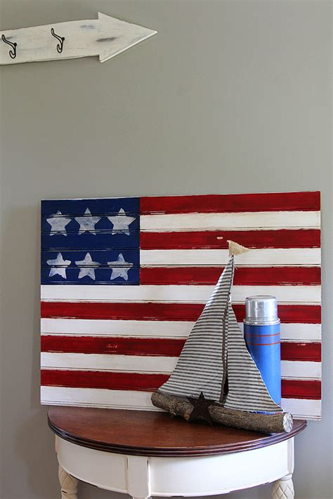 american flag crafts for easy american flag craft house of hawthornes