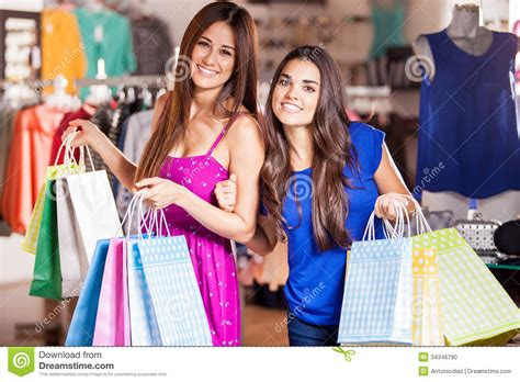 cheapest shops selling happiness for hair around pretoria best friends going shopping stock photo image of female