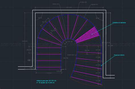 Home Design Cad abs scale scala elicoidale interna di classe
