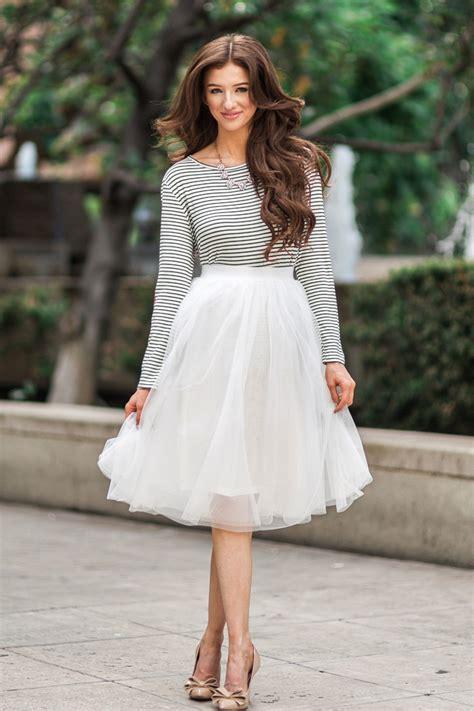 white tulle midi skirt tulle skirts for midi