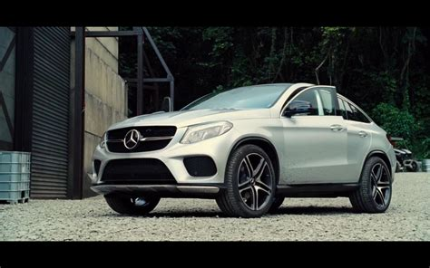 mercedes benz gle  amg coupe jurassic world
