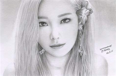 Taeyeon Sketch taeyeon by demonconstruct on deviantart