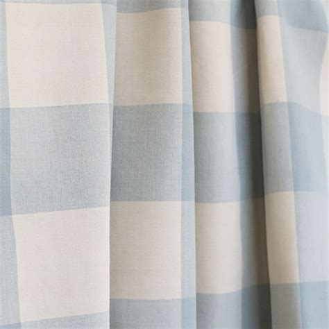 Blue Buffalo Check Curtains A Classic Spa Aqua Blue Buffalo Check With For Drapery Blinds