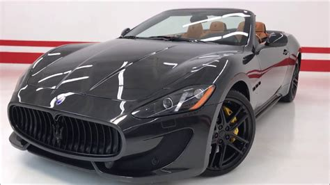 maserati granturismo blacked out 2015 maserati granturismo convertible sport custom 160k