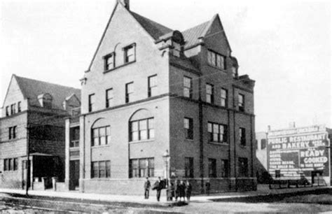 hull house chicago hull house history significance jane addams museum