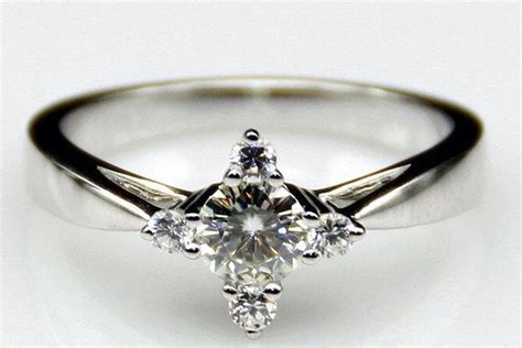 pan second to the right engagment ring promise