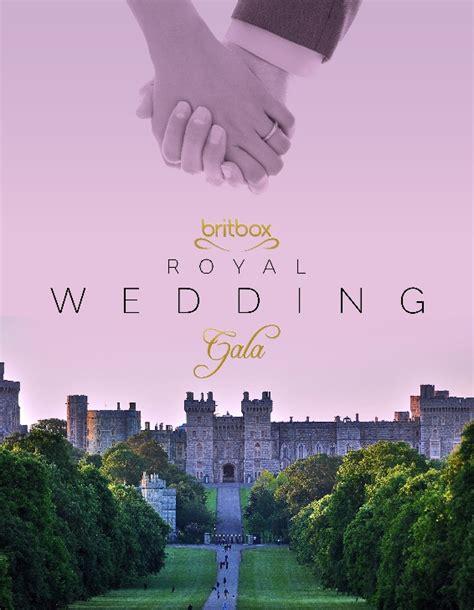 britbox usa royal wedding britbox to live stream the royal wedding