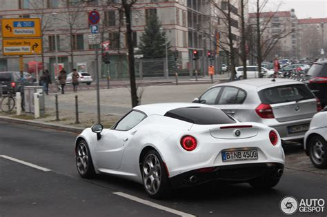 white 4c in berlin anyone we alfa romeo 4c forums