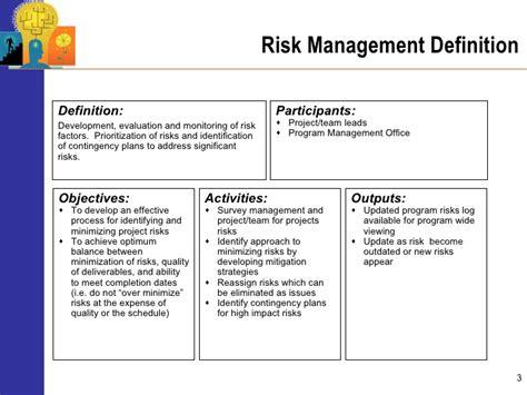 design risk definition advanced program management risk mitigation and management