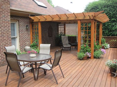 Wood Patio Designs Bring The Living Room Outside Mh Landscapes
