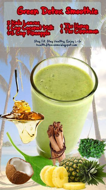 Detox Smoothie Lemon Pineapple Almond Milk by 17 Best Ideas About Green Detox Smoothie On