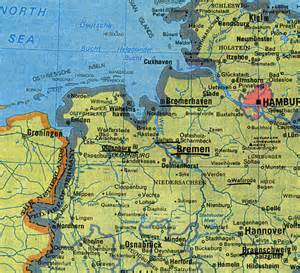 Map Of Northern Germany by Northern Germany Map