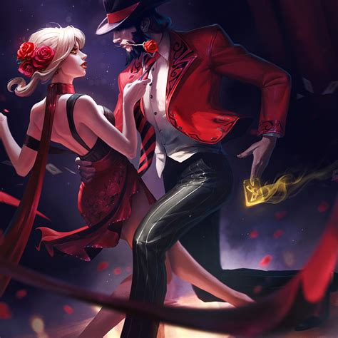 Evelynn And Twisted Fate League Of Legends, Full HD Wallpaper