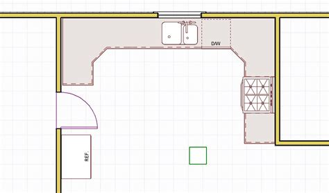 Kitchen Design Layout Small U Shaped Kitchen Layout Ideas Afreakatheart
