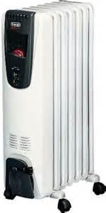 Delonghi ew6507w safeheat portable oil filled radiator heater 1500