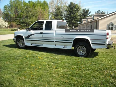 Craigslist Port Huron Cars Trucks by 1997 Chevy Silverado 2500 W Extended Cab And