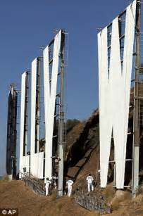 the hollywood sign gets a facelift in advance of its 90th