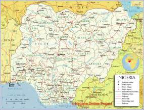 Map Of Nigeria States by Nigerian Map Viewing Gallery