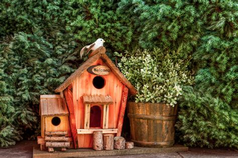 Decorative Windmills For Homes by 78 Decorative Painted Outdoor Amp Wooden Bird Houses Photos