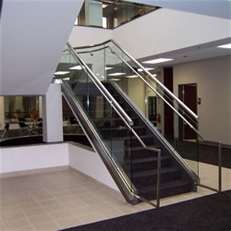 commercial glass handrails flower city glass
