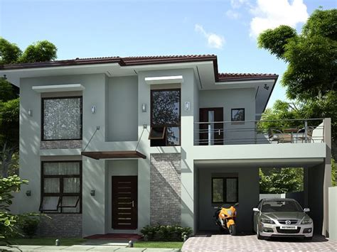 simple two story house modern two story house plans 2 storey simple modern house 4 home ideas