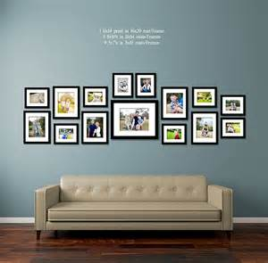 display gallery 30 family picture frame wall ideas