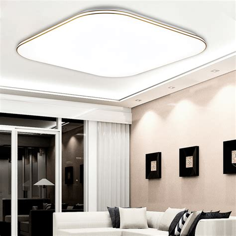 Led Bedroom Ceiling Lights Uk 36w Led Ceiling Light Dimmable Chandeliers Fixture L
