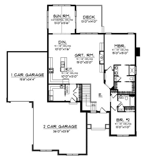 sunroom floor plans superior house plans with sunroom 1 aha944 lvl1 li bl lg