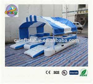 Inflatable Island With Canopy inflatable island floating lounge with canopy inflatable
