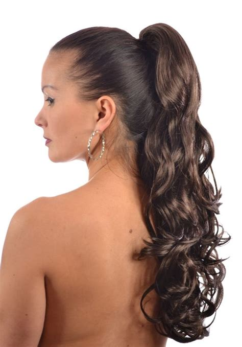 thin and slight curly pony hairstyles pony tress curly ponytail hairpiece 18 shades ponytail