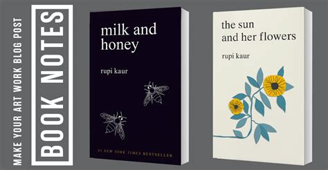 libro the sun and her book notes milk and honey make your art work