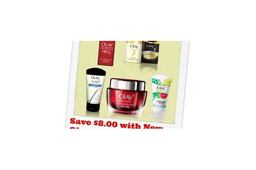 coupons oil of olay products