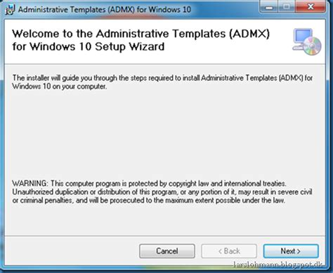 how to open administrative templates in windows 7 administrative templates admx for windows 10