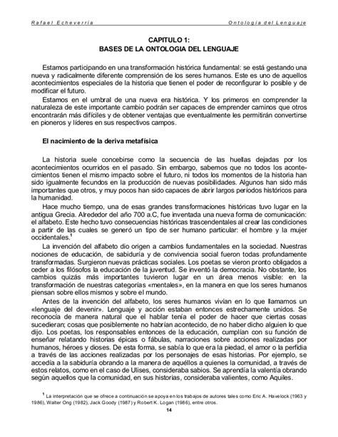 Libro Ontologia Del Lenguaje PDF ePub - LibrosPub