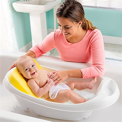 baby bathtub sponge summer infant comfy bath sponge buy online in uae