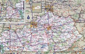 related keywords suggestions for large map of kentucky
