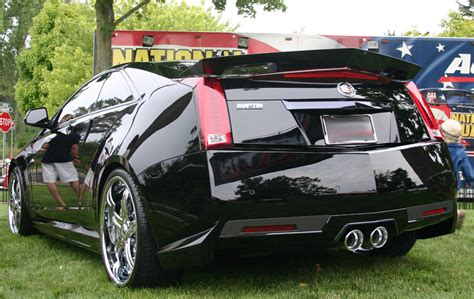 2014 cadillac cts accessories 2009 2014 cadillac cts v coupe rear skirt