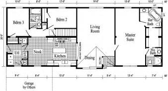 pin ranch style house plan right view home quincy modular pennwest homes model