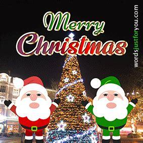 dancing santa merry christmas gif words     downloads   sharing