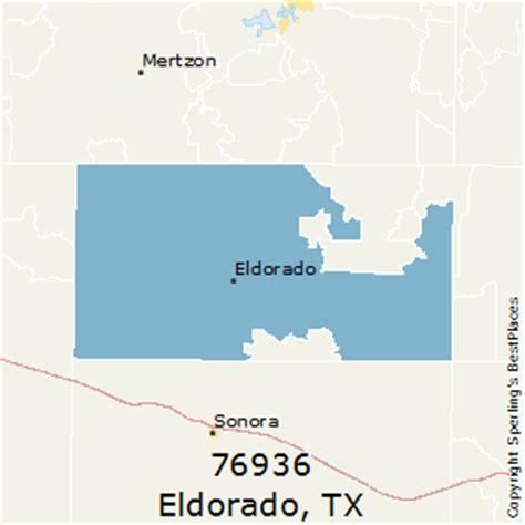 el dorado texas map best places to live in eldorado zip 76936 texas