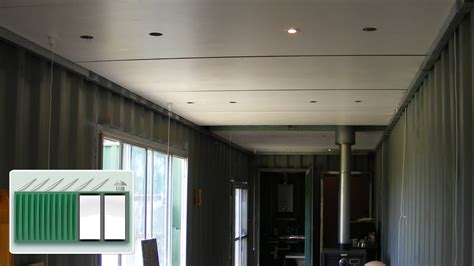 Garage Floor Paint Designs shipping container house ceiling construction youtube