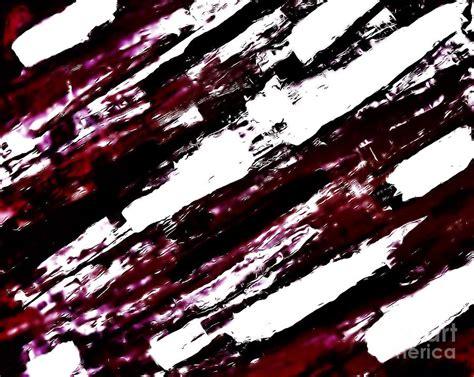 Tas Matras Canvas Abstrak Maroon burgundy abstract painting by marsha heiken