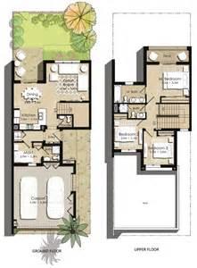 Townhouse Floor Plans Zahra Townhouse Floor Plans Town Square Dubai