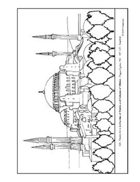 hagia sophia istanbul turkey coloring page coloring 2 hagia sophia coloring page and lesson plan ideas