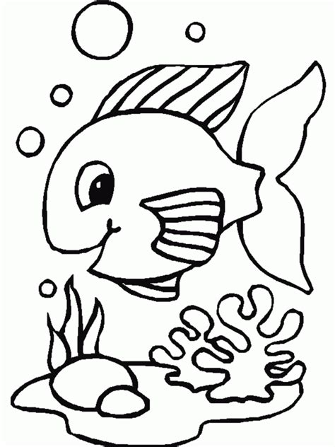 fish coloring page to print coloring pages printable cute fish coloring pages fish